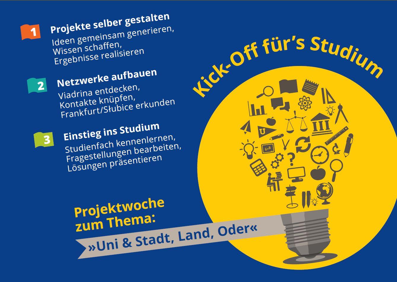 Course Image Kick-Off für's Studium - Projektwoche