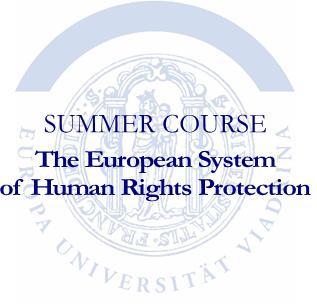 "Course Image Summer Course 2019 ""The European System of Human Rights Protection"""